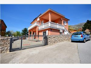 Appartementen Martin Karlobag, Kwadratuur 35,00 m2, Lucht afstand tot de zee 200 m, Lucht afstand naar het centrum 200 m