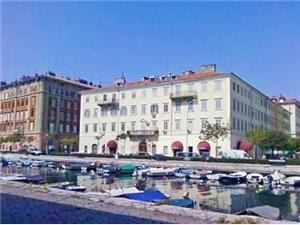 Apartmán Greis Rijeka, Prostor 20,00 m2, Vzdušní vzdálenost od centra místa 10 m