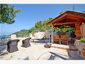 Maison Dobrila Igrane, Maison de pierres, Superficie 50,00 m2, Distance (vol d'oiseau) jusque la mer 200 m
