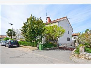 Appartamento Armando Parenzo (Porec), Dimensioni 56,00 m2