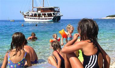 Výletne plavby loďou Chorvátsko