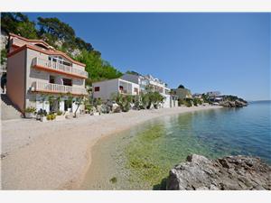 Ferienwohnungen Jure Makarska Riviera, Größe 30,00 m2, Luftlinie bis zum Meer 10 m, Entfernung vom Ortszentrum (Luftlinie) 100 m