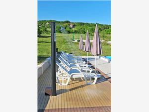 вилла Manuela Хорватия, квадратура 80,00 m2, размещение с бассейном