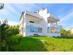 Ferienwohnung Darko Klimno - Insel Krk, Größe 42,00 m2, Luftlinie bis zum Meer 100 m, Entfernung vom Ortszentrum (Luftlinie) 250 m