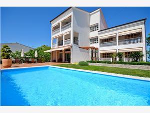 Apartmanok Siniša A Kvarner-öböl szigetei, Méret 38,00 m2, Szállás medencével