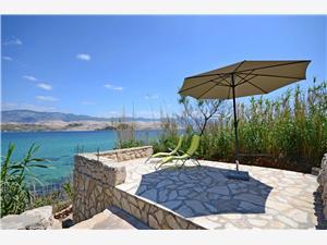 Huis Tomislav Noord-Dalmatische eilanden, Stenen huize, Afgelegen huis, Kwadratuur 45,00 m2
