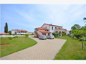 Apartmány Bogetić Modrá Istrie, Prostor 35,00 m2, Vzdušní vzdálenost od centra místa 100 m
