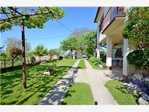 Ferienwohnung Srblin Kroatien, Größe 55,00 m2, Entfernung vom Ortszentrum (Luftlinie) 800 m
