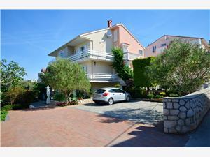Lägenheter och Rum Nada Novalja - ön Pag, Storlek 28,00 m2, Luftavståndet till centrum 400 m
