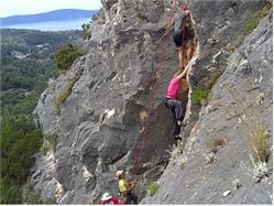 Rock climbing - Island Brač - Climbing day Necujam - wyspa Solta