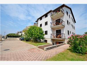 Appartementen Nevenka Umag, Kwadratuur 32,00 m2