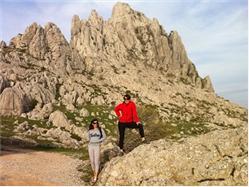 Zadar, Paklenica: Canyon of Velika Paklenica-Mountain hut-Samarđinovac-Velika Močila-Crni Vrh (1100m)-Jurline Pridraga (Novigrad)