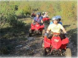 Istria: Quad safari Barban (two persons per quad, 4h) Kavran (Krnica)