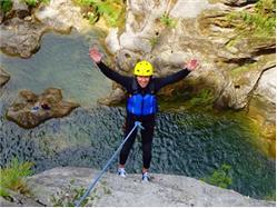 Canyoning  river Cetina - extreme  canyoning Mimice