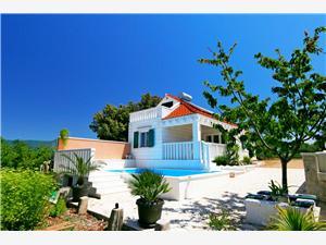 Huis Ante Pucisca - eiland Brac, Stenen huize, Afgelegen huis, Kwadratuur 56,00 m2