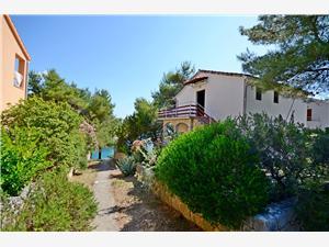 Apartmány Antun Vrbanj, Prostor 44,00 m2, Vzdušní vzdálenost od moře 30 m