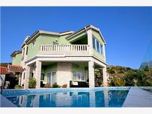 вилла Adriana Bilo (Primosten), квадратура 280,00 m2, размещение с бассейном, Воздуха удалённость от моря 200 m