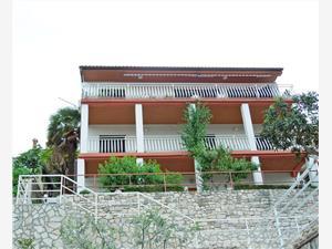 Lägenheter Elide Rabac, Storlek 65,00 m2, Luftavståndet till centrum 600 m