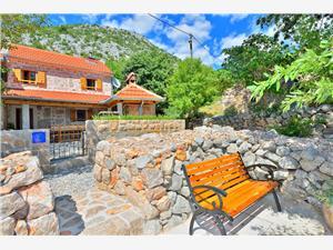 Maison Martelina Dalmatie, Maison de pierres, Superficie 46,00 m2