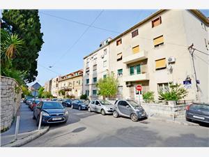 Apartmá Marijo Split, Prostor 20,00 m2, Vzdušní vzdálenost od centra místa 250 m