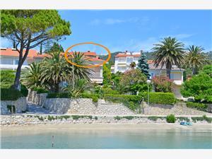Appartement Dubravka Banjol - eiland Rab, Kwadratuur 45,00 m2, Lucht afstand tot de zee 30 m