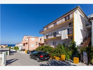 Appartements et Chambres Buljubašić Baska Voda, Superficie 20,00 m2, Distance (vol d'oiseau) jusqu'au centre ville 350 m
