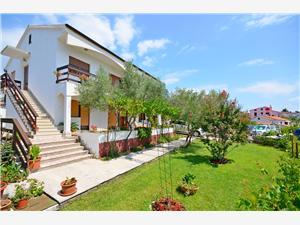 Appartements Ivanka Krk - île de Krk, Superficie 60,00 m2, Distance (vol d'oiseau) jusqu'au centre ville 300 m