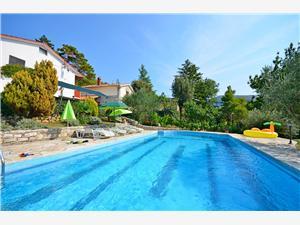 Apartmán Josip Modrá Istria, Kamenný dom, Rozloha 65,00 m2, Ubytovanie sbazénom