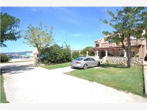 Appartementen Ivan Noord-Dalmatische eilanden, Kwadratuur 60,00 m2, Lucht afstand tot de zee 20 m