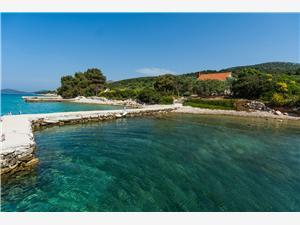 Huis Sage Tkon - eiland Pasman, Afgelegen huis, Kwadratuur 75,00 m2, Lucht afstand tot de zee 10 m