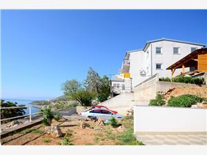 Appartementen Marija Senj, Kwadratuur 60,00 m2, Lucht afstand tot de zee 250 m