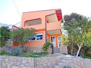 Apartament Ivan Karlobag, Powierzchnia 35,00 m2, Odległość do morze mierzona drogą powietrzną wynosi 50 m