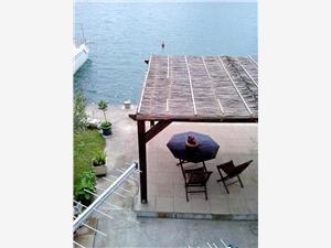 Ferienwohnung Vedran Blace (Opuzen), Größe 65,00 m2, Luftlinie bis zum Meer 50 m, Entfernung vom Ortszentrum (Luftlinie) 30 m