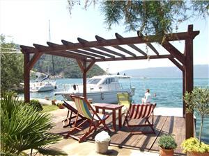 Апартамент Vedran Хорватия, квадратура 65,00 m2, Воздуха удалённость от моря 50 m, Воздух расстояние до центра города 30 m