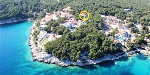 Apartmán - Milna - ostrov Brac