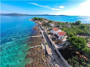 Kuća za odmor Merica Drvenik Mali - otok Drvenik Mali, Kuća na osami, Kvadratura 110,00 m2, Zračna udaljenost od mora 10 m
