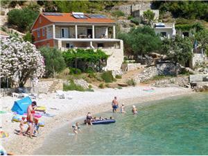 Apartamenty Željko Gdinj - wyspa Hvar, Domek na odludziu, Powierzchnia 40,00 m2, Odległość do morze mierzona drogą powietrzną wynosi 10 m