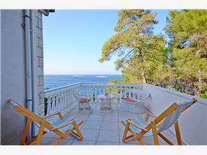 Haus Ivan Kroatien, Haus in Alleinlage, Größe 80,00 m2, Luftlinie bis zum Meer 20 m