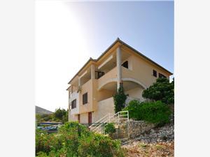 Ferienwohnungen Ivan Vinisce, Größe 40,00 m2, Luftlinie bis zum Meer 50 m, Entfernung vom Ortszentrum (Luftlinie) 800 m