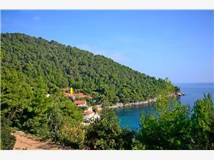 Ferienwohnungen Edi Kroatien, Haus in Alleinlage, Größe 42,00 m2, Luftlinie bis zum Meer 15 m