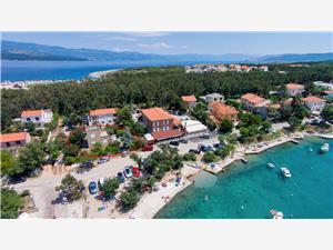 Beachfront accommodation Kvarners islands,Book Prijon From 111 €