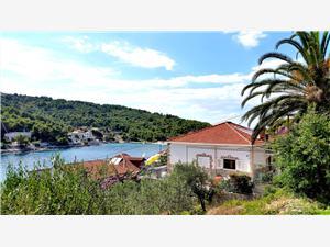 Beachfront accommodation Middle Dalmatian islands,Book galathea From 117 €
