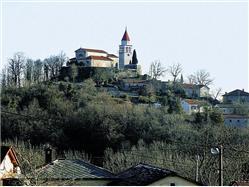 L'église paroissiale de Saint-Marc Moscenicka Draga (Opatija) L'église