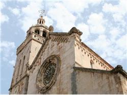 Katedrę świętego Marka Zaklopatica - wyspa Lastovo Kościół