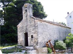 St. Nikola church Zirje - island Zirje Church