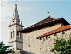 kościół Najświętszej Maryi Panny Jelsa - wyspa Hvar Kościół