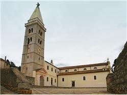 Chiesa parrocchiale della Natività di Maria Vergin Cres - isola di Cres Chiesa