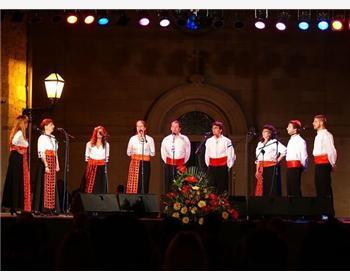 Evenings of Dalmatian a capella songs