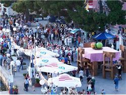 Biogradski stół Pakostane Lokalne święto