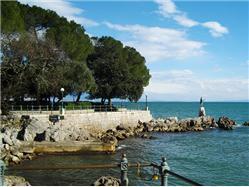 Lungomare (coastal promenade) Opatija Zabytki